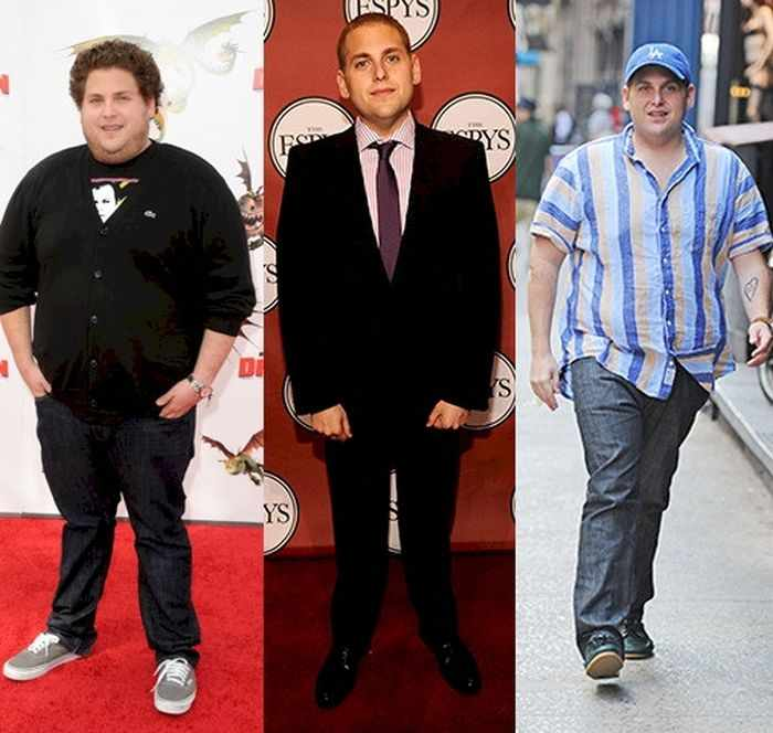16 Hollywood Celebrities Who Went Through Drastic Body Transformations