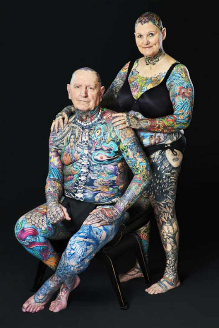 10 Pictures of the Most Tattooed Pensioners in the World -03