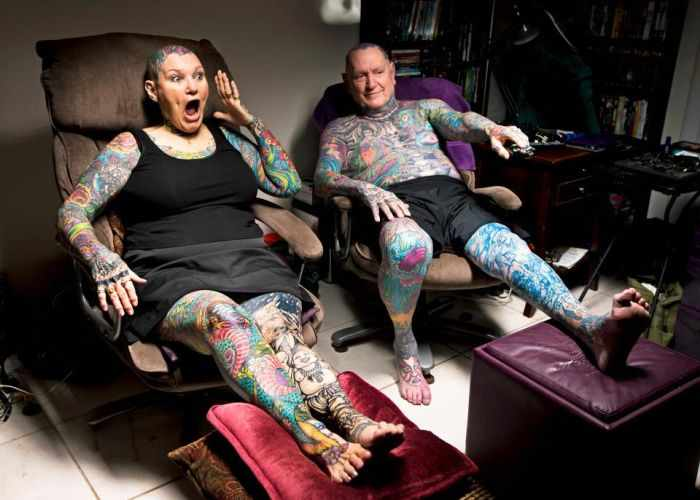 10 Pictures of the Most Tattooed Pensioners in the World -04