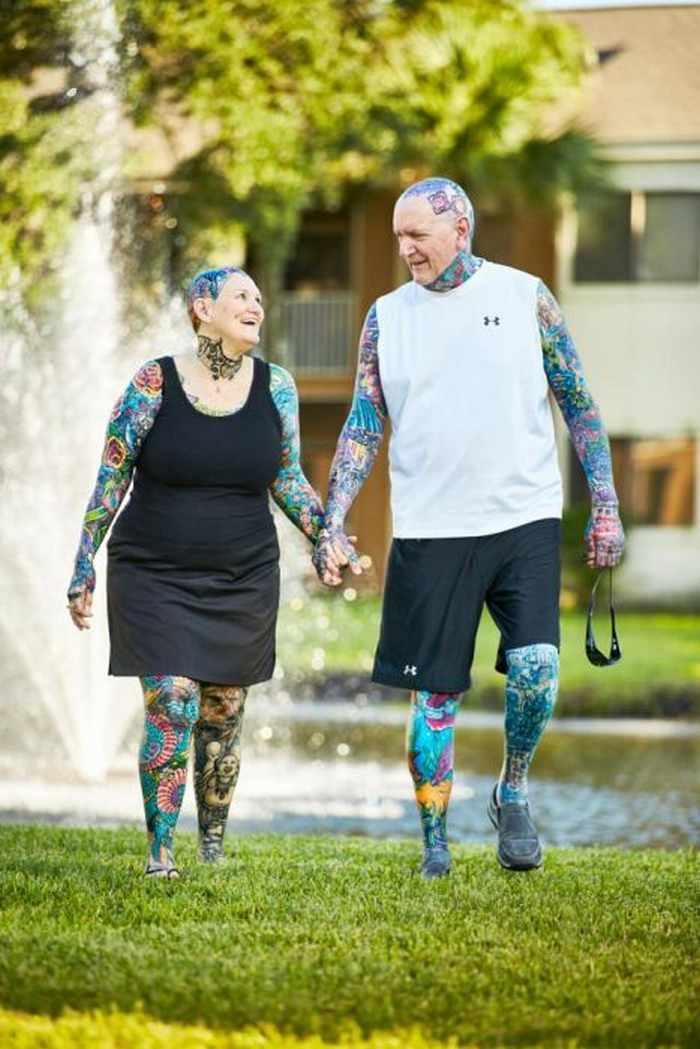 10 Pictures of the Most Tattooed Pensioners in the World -05