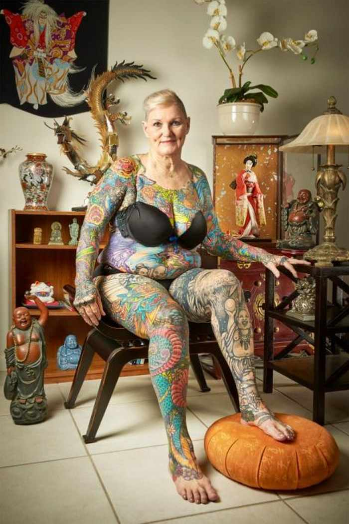 10 Pictures of the Most Tattooed Pensioners in the World -07