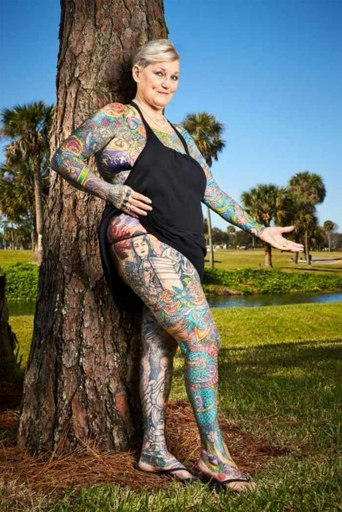10 Pictures of the Most Tattooed Pensioners in the World -09