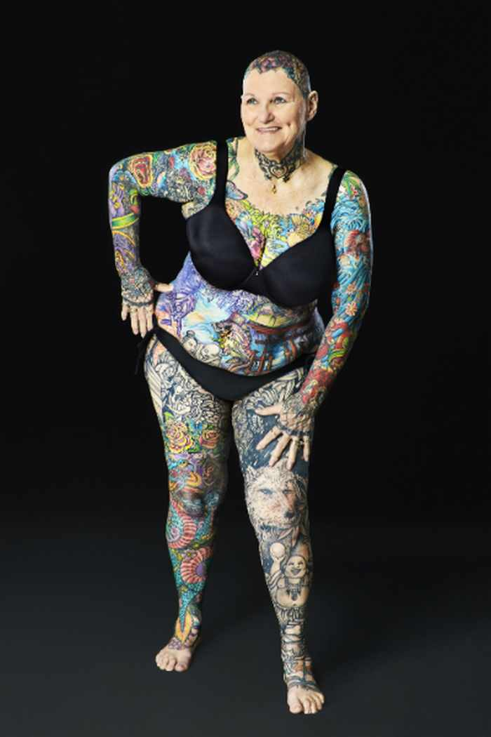 10 Pictures of the Most Tattooed Pensioners in the World -10