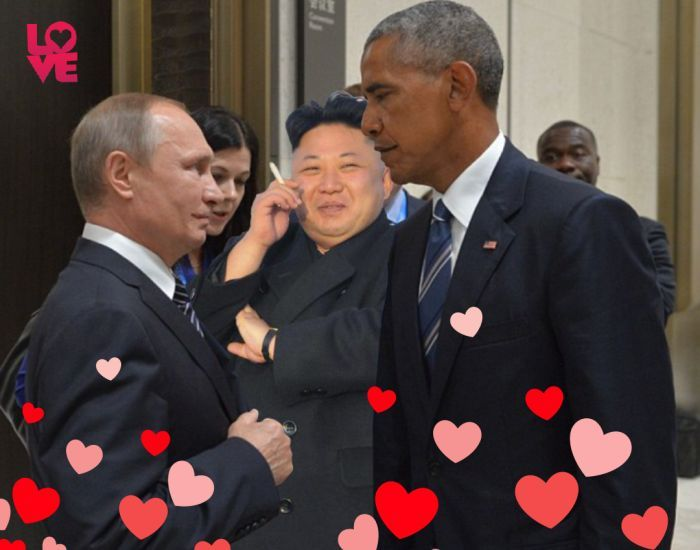 Obama And Putin's Hilarious Death Stare Gets Trolled By Photoshoppers-07