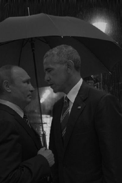 Obama And Putin's Hilarious Death Stare Gets Trolled By Photoshoppers-12