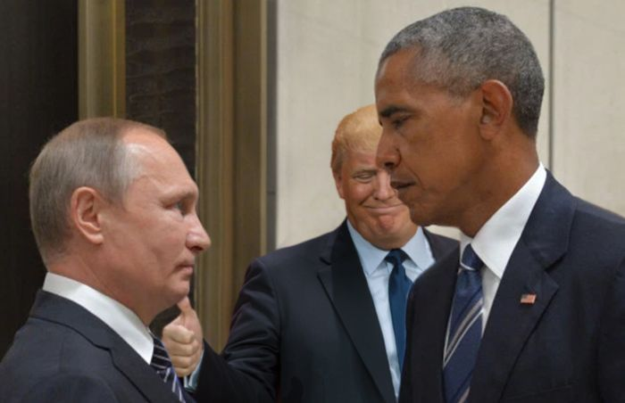 Obama And Putin's Hilarious Death Stare Gets Trolled By Photoshoppers-15