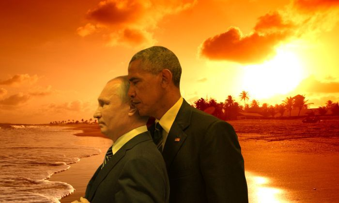 Obama And Putin's Hilarious Death Stare Gets Trolled By Photoshoppers-18