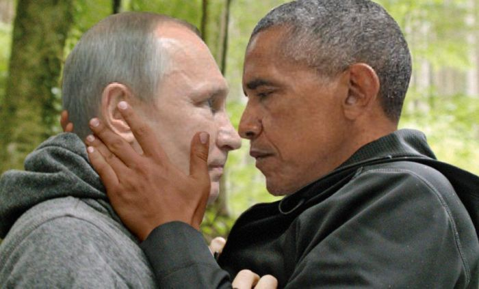 Obama And Putin's Hilarious Death Stare Gets Trolled By Photoshoppers-21