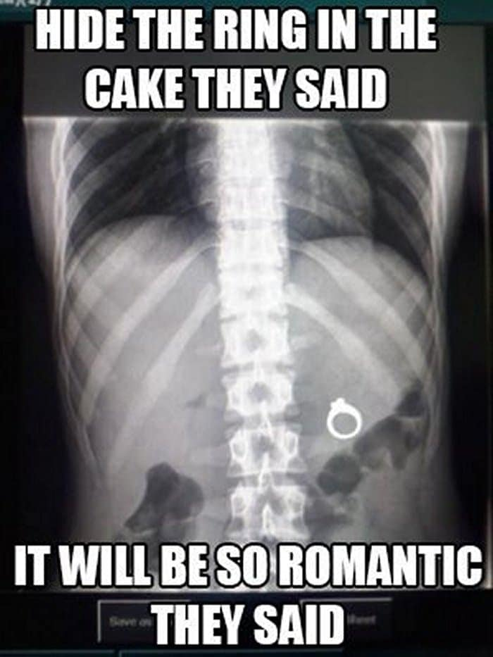 Epic Fail Romantic Valentines Day Cake
