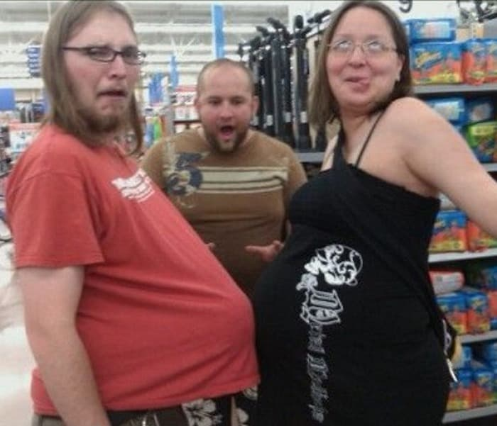 The 35 Funniest People Of Walmart Pictures of All Time -04