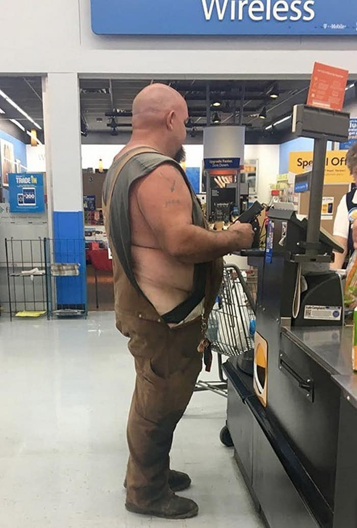 The 35 Funniest People Of Walmart Pictures of All Time -26
