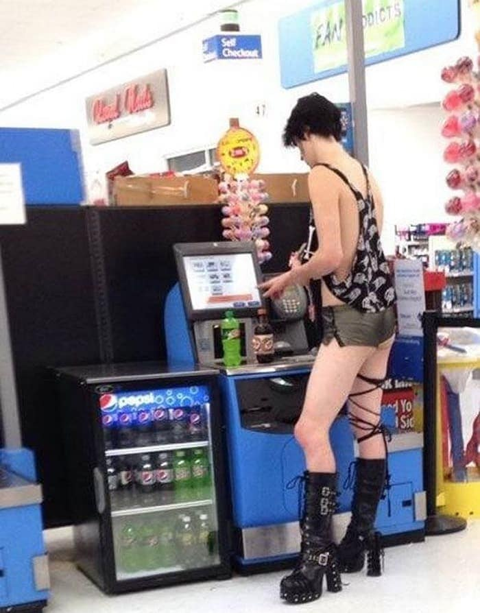 The 35 Funniest People Of Walmart Pictures of All Time -31