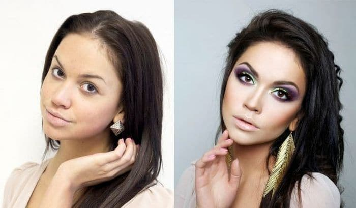 58 With and Without Makeup Pictures of Girls That Will Shock You - 20