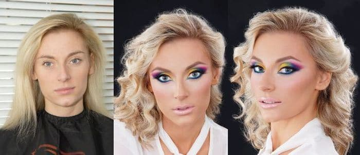 58 With and Without Makeup Pictures of Girls That Will Shock You - 25