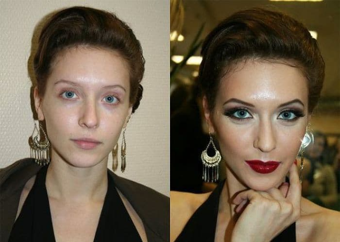 58 With and Without Makeup Pictures of Girls That Will Shock You - 38