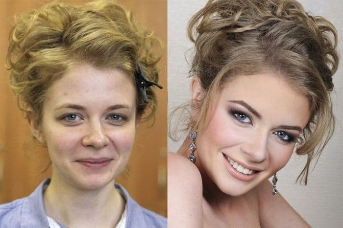 58 With and Without Makeup Pictures of Girls That Will Shock You - 48