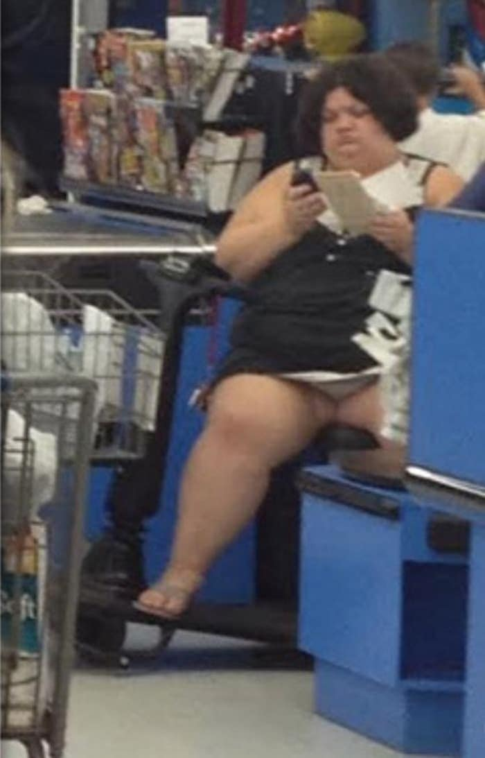 The 24 Weird People of Walmart That Are on Another Level -02