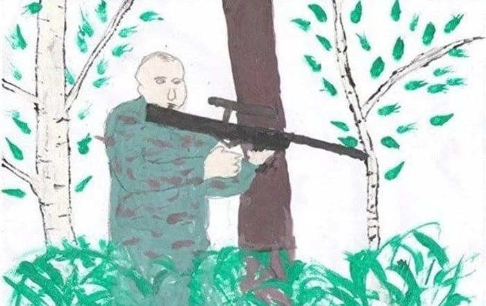 27 Funny Drawings of Putin By Russian Kids Will Make You LOL -08