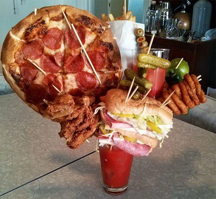 30 Funny Pictures of Serving of Dishes in Restaurants Will Blow Your Mind -22