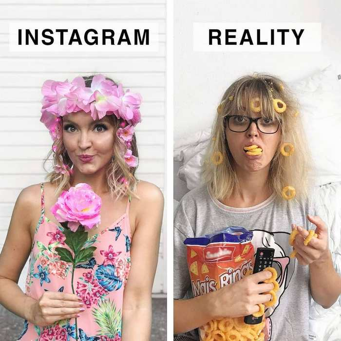 24 Instagram Vs Reality Photos By German Artist Will Blow Your Mind-07
