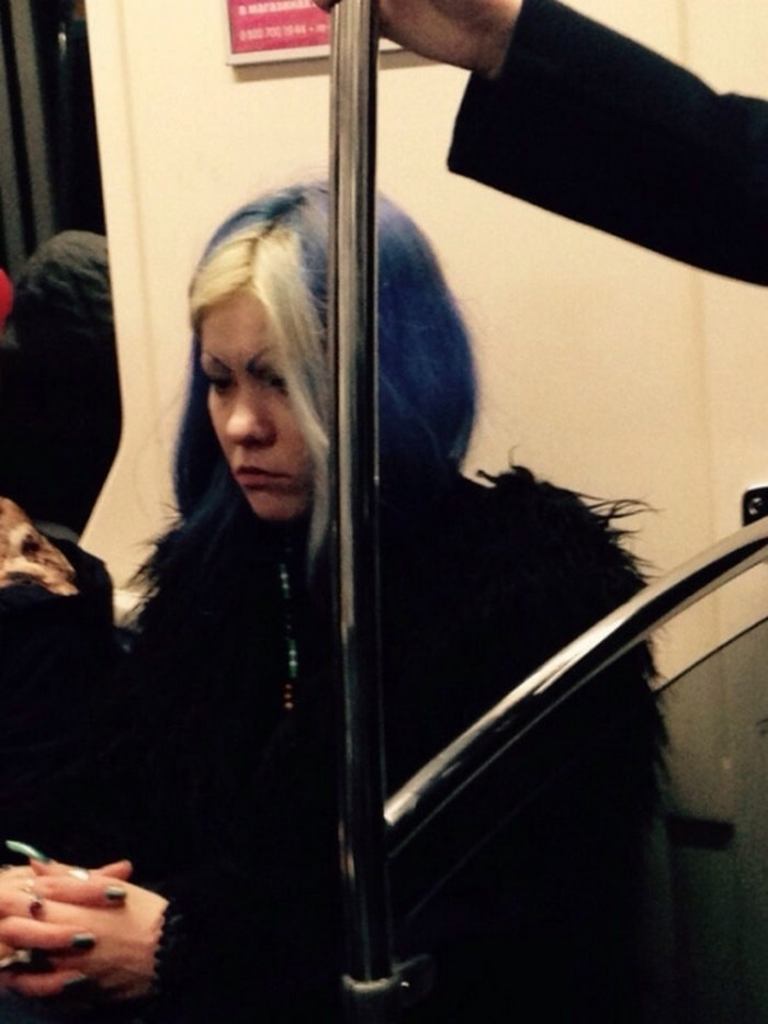 34 Ridiculous Russian Subway Fashion Pics That Are Weird As Hell-04