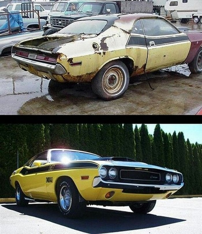 Cars Before And After Restorations (31 Photos)-29