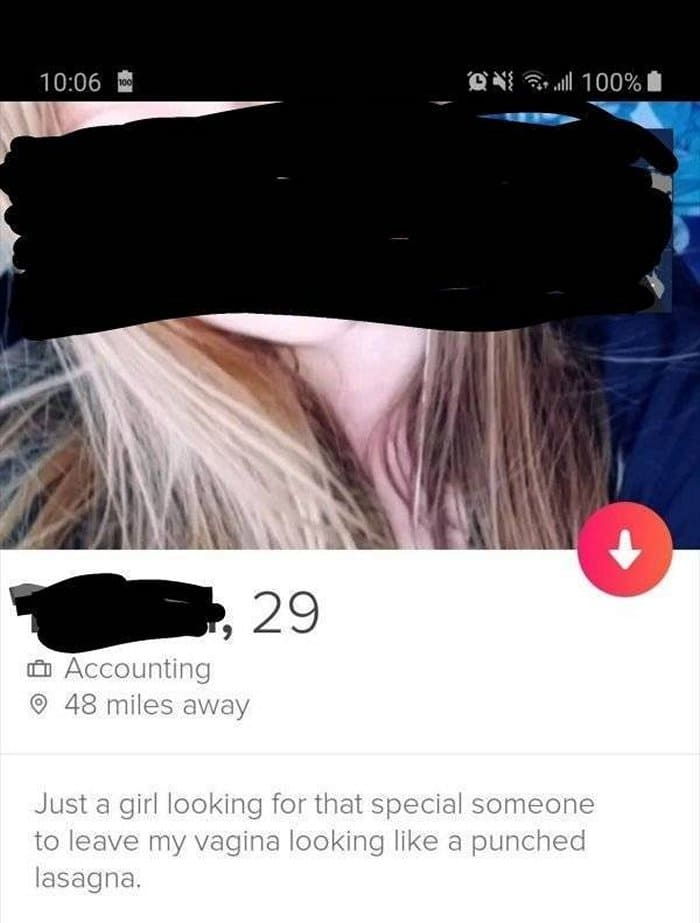 60+ Funny Tinder Profiles That Will Make You Look Again-04
