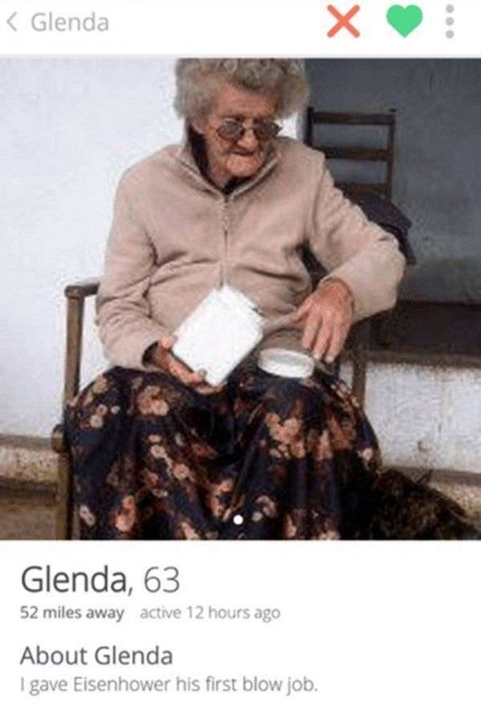 60+ Funny Tinder Profiles That Will Make You Look Again-14