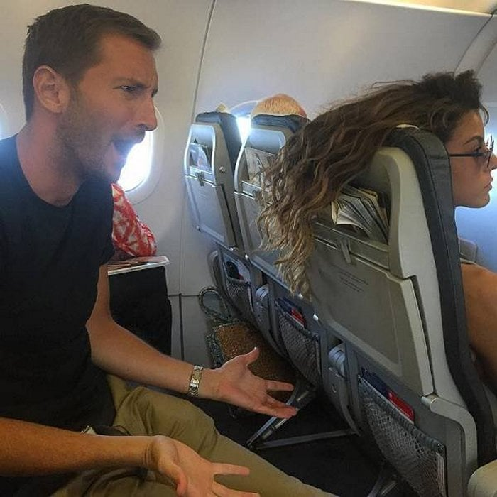 Awkward Airplane Moments That Are Funny And Scary (18 Photos)-11