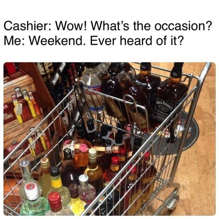 41 Funny Memes About Getting Drunk-34