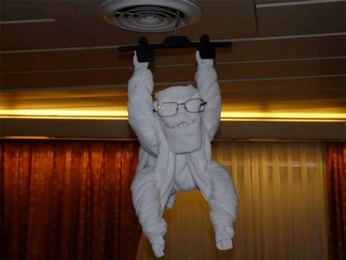 30 Best Folded Towel Art Images That Will Blow Your Mind-03
