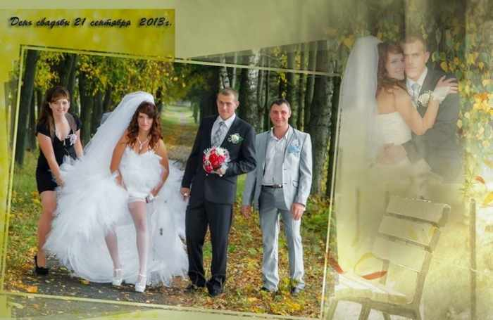 Worst Russian Wedding Photos That Are Too Awkward To Handle (40 Pics)-25