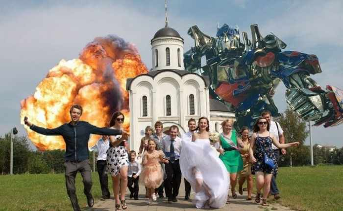Worst Russian Wedding Photos That Are Too Awkward To Handle (40 Pics)-26