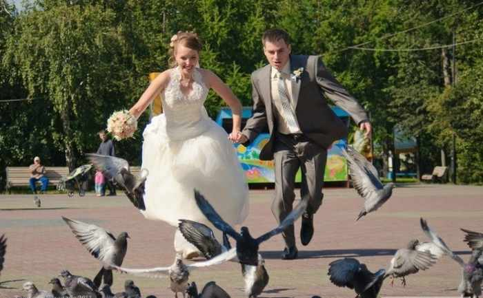 Worst Russian Wedding Photos That Are Too Awkward To Handle (40 Pics)-33