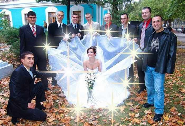 Worst Russian Wedding Photos That Are Too Awkward To Handle (40 Pics)-38